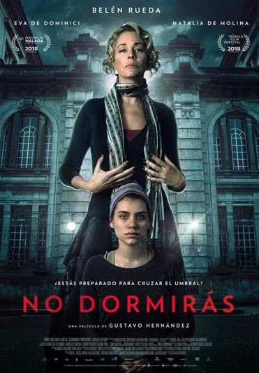 "Poster ""No dormirás"""