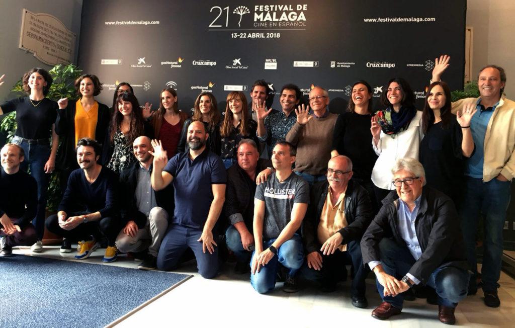 Premiados en el Festival de Málaga para 'No dormirás'